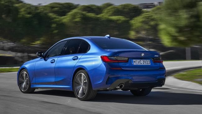 BMW will have diesel and petrol power in Australia from launch.
