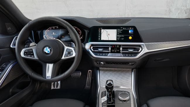 Technology promises to be a big selling point for the 3 Series.